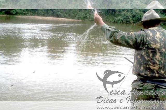 PMA apreende redes de pesca no Rio Doce em Minas Gerais 2