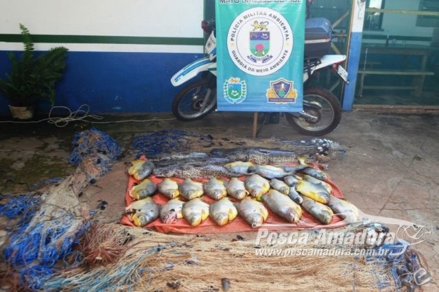 pma-apreende-redes-e-83-kg-de-pescado-ilegal-no-rio-coxim-em-ms