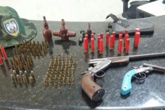 PMA apreende redes e armas durante fiscalizacao no ES 2