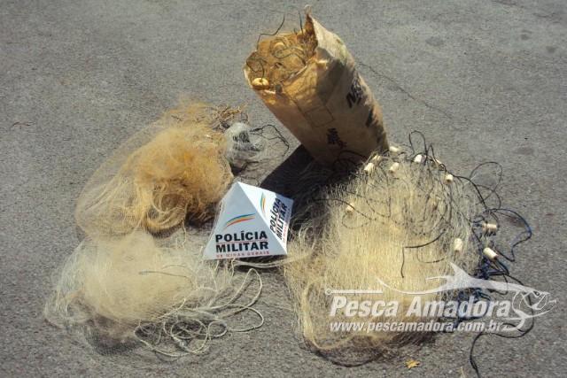 pma-apreende-redes-e-autua-duas-pessoas-por-pesca-ilegal-no-rio-santana-em-formiga-mg