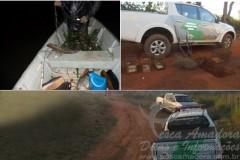 PMA apreende redes e pescado durante fiscalizacao no estado de Sao Paulo