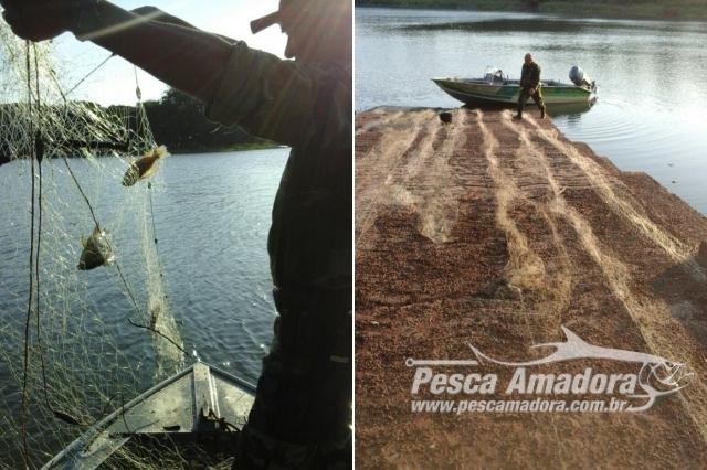 pma-apreende-redes-e-pescado-ilegal-apos-denuncia-no-lago-de-itaipu-no-parana-2