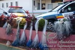 PMA apreende tarrafas durante fiscalizacao em Uberlandia-MG