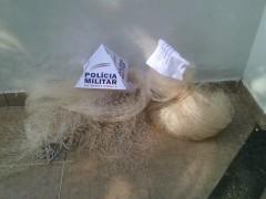 PMA apreende tarrafas e pescado ilegal no Rio Suacui Grande em MG