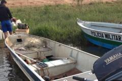 PMA autua dois por pesca ilegal e apreende 40 kg de peixes no MS