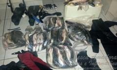 PMA combate caca submarina no lago de serra da mesa em Goias