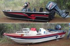 PMA encontra dois barcos abandonados na represa de Nova Ponte-MG Capa