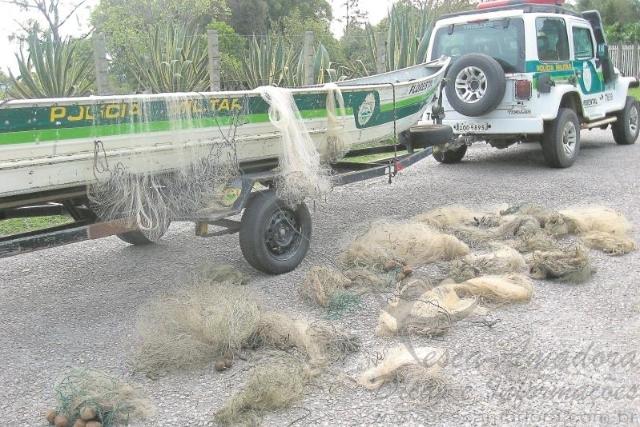 PMA intensifica fiscalizacao na area da APA da Ilha Grande no Rio Parana
