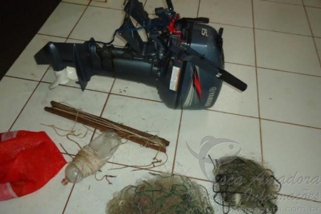 PMA prende cacador e apreende redes e arma de fogo no MS