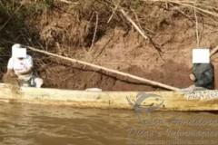 PMA prende dois por pesca predatoria no rio Ivai-PR