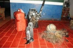 PMA prende dois por pescar ilegal no rio Coxim-MS