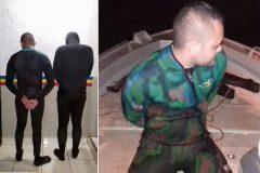 PMA prende duas pessoas por pesca ilegal na Usina Porto Colombia no Rio Grande-MG 4