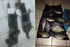 PMA prende dupla por pesca subaquatica durante piracema no MS 3