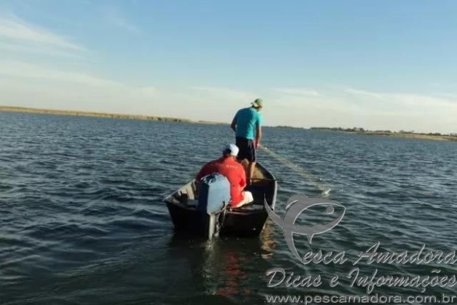 PMA prende homem com 17 redes de pesca e 17kg de pescado no MS