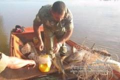 PMA prende quatro paraguaios por pesca ilegal no Rio Parana 2