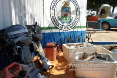 PMA prendeu 49 pessoas e aplicou R$ 103 mil em multas durante piracema em MS