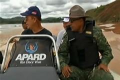 PMA realiza operacao contra pesca ilegal em afluentes do Rio Doce em MG