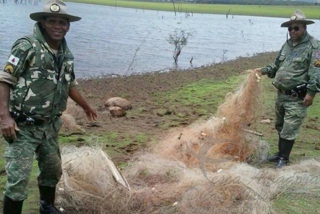 PMA realiza prisoes e apreensoes de redes no Triangulo Mineiro