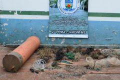 PMA retira 150 metros de espinheis e 317 anzois de galho no Rio Miranda e afluentes no MS 2