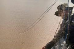 PMA retira 700m de redes irregulares na represa Capirava no PR 2