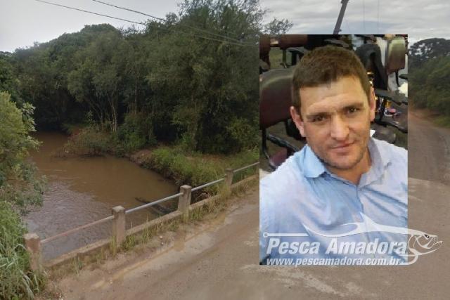 Pai salva filho mas morre afogado apos se enroscar em rede de pesca no Parana