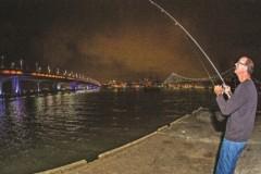 Pesca Noturna em Florianopolis 2