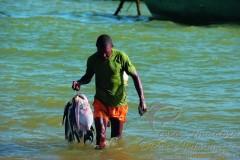 Pesca artesanal no litoral brasileiro