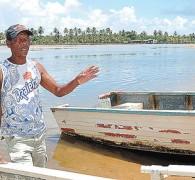 Pescador fala da mudança do Rio Joanes nos ultimos 50 anos