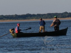 Pescador profissional Paraguaio ameaca reporter da revista pesca e cia