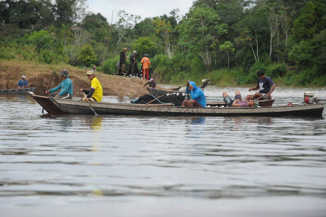 Pescadores Artesanais na Amazonia