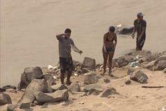Pescadores amadores ignoram proibicao e pescam proximo a usina em RO 2