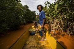 Pescadores e ribeirinhos afetados pela tragedia ambiental no Rio Doce 2