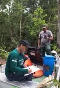 Pesquisa de biodiversidade de peixes na Amazonia 03