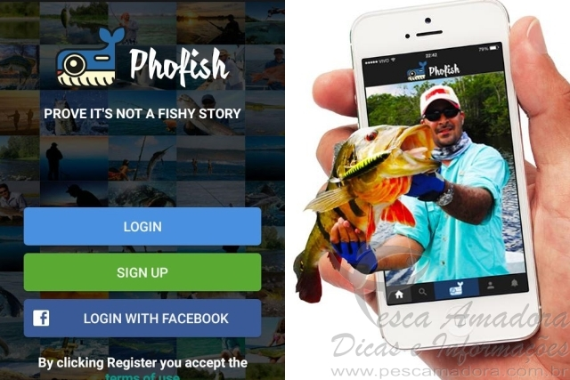 Phofish - Rede social de pesca 2
