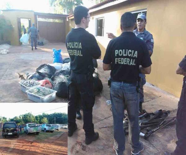Policia Federal efetua prisao por pesca ilegal em Ilha Solteira-SP