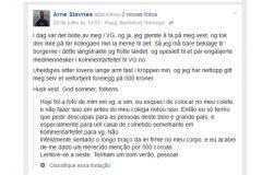 Policial noruegues multa a si mesmo por navegar sem colete salva-vidas 2