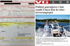 Policial noruegues multa a si mesmo por navegar sem colete salva-vidas