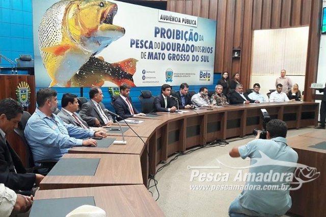 Proibição da pesca do Dourado nos rios do Estado foi debatida no MS ... 7a573c95f81