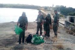 Quatros pescadores sao autuados por pescarem em local proibido em MG