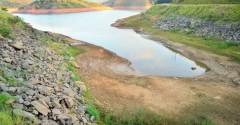 Represa do Jguari do sistema Cantareira esta com 17 por cento de sua capacidade