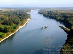 Rio Danubio - Leste da Europa (Austria)