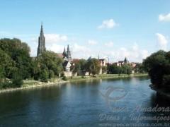Rio Danubio - Leste da Europa (Hungria)