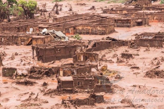 Rio Doce depois do desastre ambiental