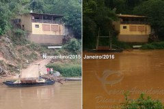 Rio Sao Francisco volta a elevar o volume de agua em Minas Gerais