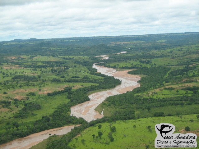 Rio Taquari no Mato Grosso do Sul