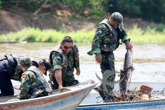 SEMA apreende pescado irregular no Mato Grosso
