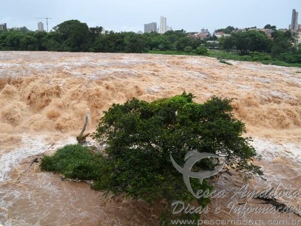 Salto do Rio Piracicaba em marco 2015