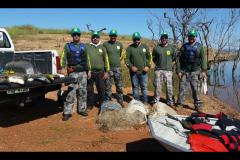 Secima apreende 31 redes e 37 kg de pescado ilegal na Serra do Facao-GO 3