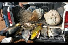 Secima apreende 31 redes e 37 kg de pescado ilegal na Serra do Facao-GO 5
