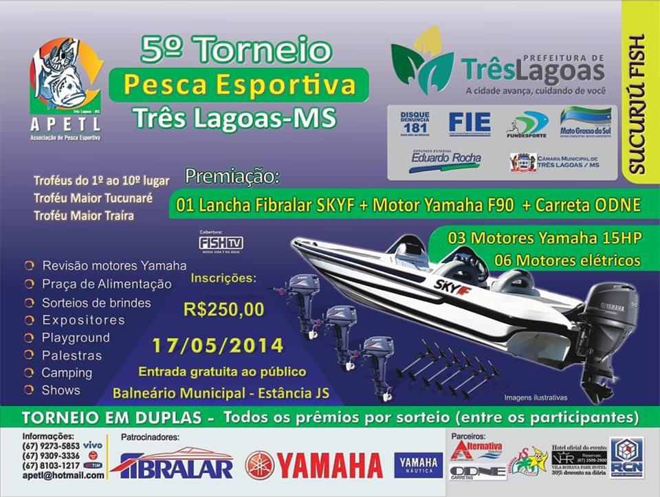 Torneio de Pesca de Tres Lagoas - MS Folder